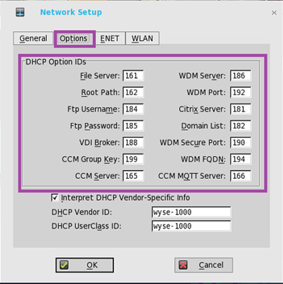 DHCP option tags for Wyse ThinOS | Scott Mattie's Blog